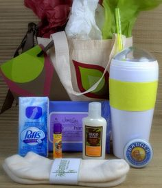 Cold and Flu Recovery Gift Basket.  Someone who might not be feeling well,  just got a little more comfortable.