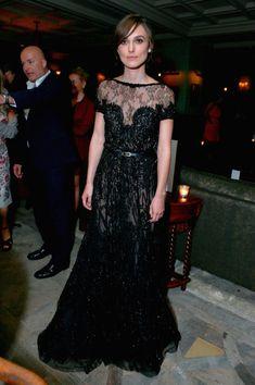 Keira Knightley Beaded Dress - Keira Knightley Looks - StyleBistro