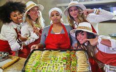 Il Team di Donnavventura in cucina!