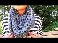 |SIMPLY HOOKED| Simple Cowl- This tutorial is so awesome. She basically assumes that you are a TOTAL beginner and walks you through the whole process! This is the perfect first project. (t.s.)