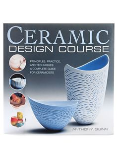 Book / Ceramic Design Course: Principles, Practice, and Techniques - A Complete Course for Ceramicists by DIYCraftSupplyFinds on Etsy Ceramic Supplies, Pottery Supplies, Ceramic Tools, Ceramic Pottery, Ceramic Art, Raku Kiln, Keramik Design, Pottery Designs, Pottery Painting