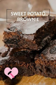 This recipe is moist and rich - you won't believe these are brownies made from Sweet potatoes!