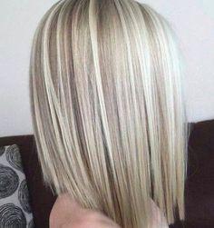 80 Sensational Medium Length Haircuts for Thick Hair- 80 Sensational Medium Length Haircuts for Thick Hair Blonde Balayage Lob - Balayage Lob, Medium Hair Styles, Short Hair Styles, Hair Medium, Haircut For Thick Hair, Great Hair, Fine Hair, Gorgeous Hair, Beautiful