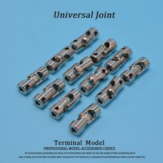Rc Boat Metal Cardan Joint Gimbal Couplings Universal Joint for