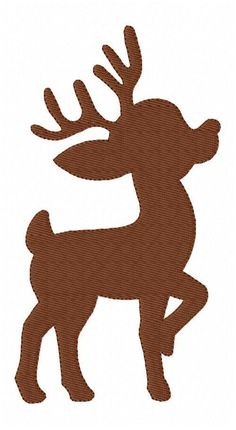Embroidery Designs Reindeer 1757 - Joyful Stitches - Description Single embroidery design for the hoop. Design is by inches and 14111 stitches. Graphics by Pretty Grafik Design. Christmas Yard Art, Christmas Wood Crafts, Felt Christmas, Christmas Projects, Holiday Crafts, Christmas Decorations, Christmas Ornaments, Reindeer Decorations, Reindeer Christmas