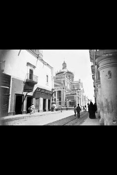Guadalajara antigua. La catedral 1889