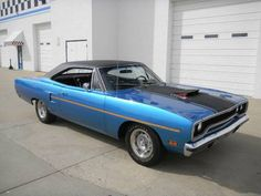 1970 Plymouth Road Runner 440ci 6-Pack 4spd
