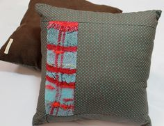 New to pidgepidge on Etsy: SALE | Modern Textile Couch Pillow | Woven Chic Home Decor | Handwoven Felted Decorative Pillow | Hand Loomed Accent Pillows for Couch | A2
