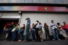 El dinero en efectivo, un objeto escaso en Venezuela