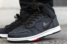 Nike Dunk CMFT: Black Denim