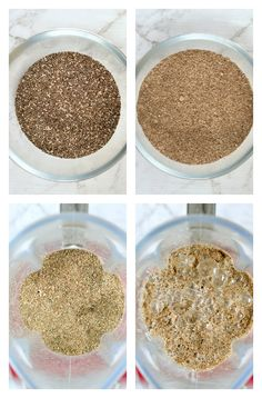 Ground chia seed pudding with Almond milk is a smooth chocolate peanut butter healthy dessert or breakfast. Easy, gluten free, vegan, low carb, keto and whole 30 ! Chia Pudding Almond Milk, Keto Pudding, Chocolate Chia Seed Pudding, Pudding Recipes, Almond Flour, Healthy Chocolate Cookies, Banana Oat Cookies, Healthy Diet Recipes, Healthy Foods To Eat