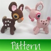 crochet animal patterns | Adorable Fawn Amigurumi Pattern Crochet Animals Animal Deer from Wists ...