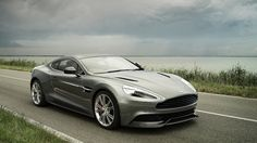 Aston Martin Vanquish    (also, article with 50 freaking awesome grey cars)