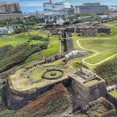 El Castillo De San Cristobal Viejo San Juan, Puerto Rico