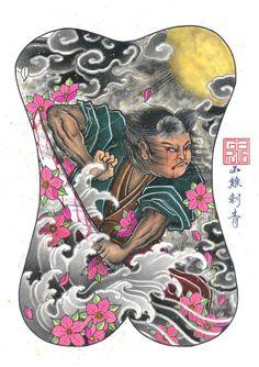 Back Piece Tattoo, Oriental, Full Back Tattoos, Asian Tattoos, Japan Tattoo, Irezumi Tattoos, Samurai Tattoo, Back Pieces, Tattoo Designs