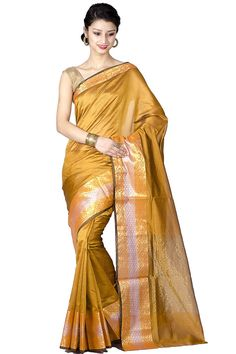 Chandrakala Pure Banarasi Weaves-Fancy Faux Silk Saree.   Material:Faux Silk Saree with all over weaving and fancy Zari border. Very Light and comfortable to wear. Perfect for any occasion:Party,Casual,Office. With Unstitched Blouse Piece  #Silk Saree #Pure Silk #Saree