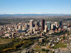 Calgary, Alberta, Canada. My home for 5 plus years before moving to California's Bay Area.