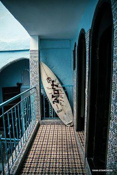 Medina Surfing Association Rabat by Yana Stancheva, via Flickr