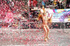 Paraiso School of Samba has biggest float in Notting Hill Carnival