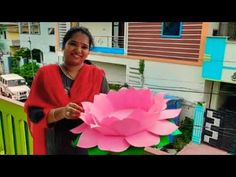 Birthday Decorations At Home, Diwali Decorations At Home, Backdrop Decorations, Flower Decorations, Festival Decorations, Paper Decorations, Paper Flower Garlands, Paper Flowers, Paper Lotus