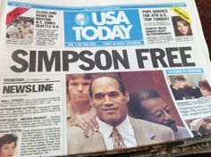 O.J. everyone has their opinion of that