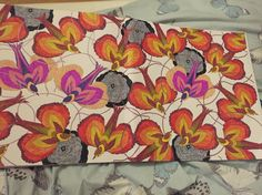 Using colour inspiration ideas from Pinterest I created this. Millie marotta animal kingdom colouring book