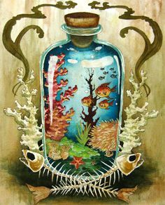 Christina Tan Illustration - Coral - preservation of the coral reefs