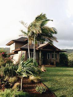 Home at The Palmwood in Moloa'a on Kauai's North Shore.