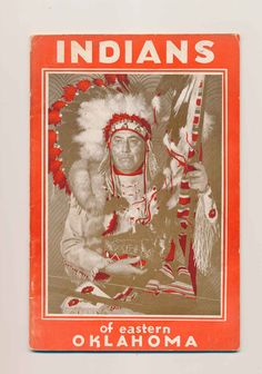 vintage booklet, Indians of Eastern Oklahoma, Quapaw, Wilson, 1950's by mudintheUSA on Etsy