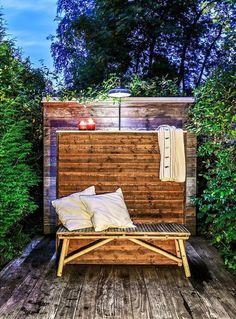 Bygga utekök själv | Byggahus.se Outdoor Sofa, Outdoor Furniture, Outdoor Decor, Pool Designs, Villa, Backyard, Cabin, Garden, Summer