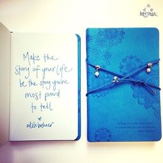 """""""Make the story of your life be the story you're most proud to tell"""" Adèle Basheer"""