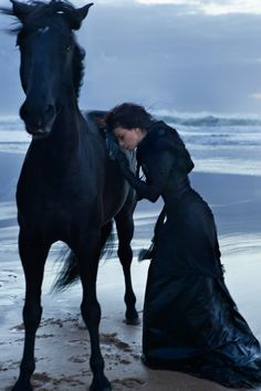 Okay, So I don't have a horse and I don't live by the sea and I don't have a dress like that.. but if I did, I would!