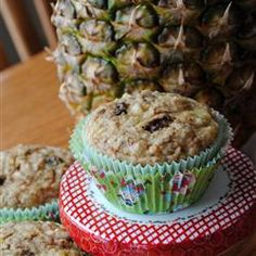 Pineapple Muffins Allrecipes.com