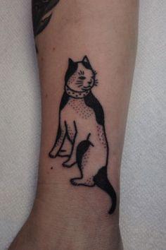 Jenna Bouma, Slower Black: stick and poke tattoo art