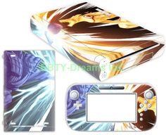 EBTY-Dreams Inc. - Nintendo Wii U - Naruto Anime Susanoo Sasuke Bijuu Kyuubi Vinyl Skin Sticker Decal Protector