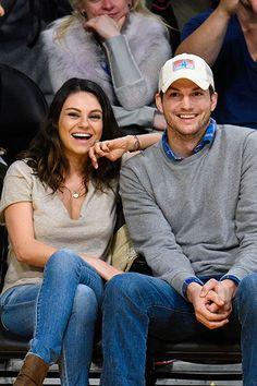 Congratulations, Mila Kunis & Ashton Kutcher!