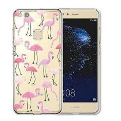 cool Huawei P10 Lite Funda , TUTUWEN Transparente Silicona TPU de Flexibilidad Carcasa Case Bumper Ultra Delgado Espalda Case Cover para Huawei P10 Lite