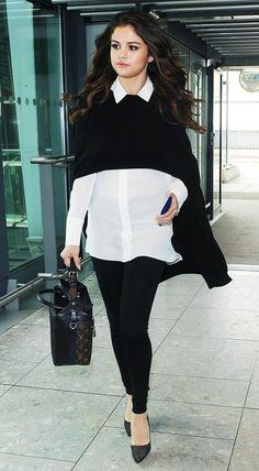 Selena Gomez | http://www.hercampus.com/style/celebrity-airport-style