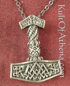 Mjolnir with knotwork