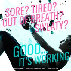Fitspiration: Sore? #Fitness #Strength #TheBodyDepart
