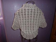 Ravelry: devilgaby's Short sleeved crochet shrug
