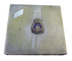 WWII HMS Glasgow Cigarette Case Cover Engine by BiminiCricket