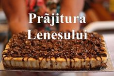 Romanian Desserts, Toblerone, Biscuit, Sweet Treats, Cheesecake, Deserts, Cooking Recipes, Sweets, Baking