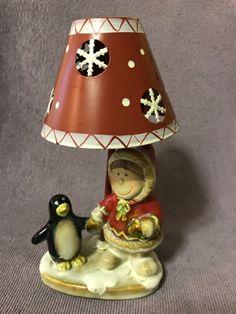 Yankee Candle Christmas Winter Penguin And Eskimo Tea light