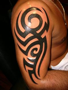 Super Ideas Tattoo Ideas For Men Tribal Style Tattoos And Body Art tribal tattoo pictures Tribal Shoulder Tattoos, Tribal Tattoos For Men, Chest Tattoos For Women, Tribal Sleeve Tattoos, Trendy Tattoos, Tattoos For Guys, Cool Tattoos, Tatoos, Tribal Style