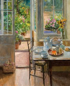 Art Decor, Decoration, Classical Realism, Interior Rendering, Painting Still Life, Country Art, Aesthetic Art, Les Oeuvres, Creative Art