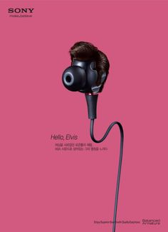 Sony Earphone: Elvis Presley