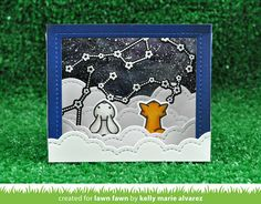 the Lawn Fawn blog: Lawn Fawn Intro: Shadow Box Card