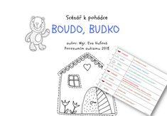 Scénář k pohádce Boudo, budko - E-shop Porozumím autismu Word Search, Words, Fun, Shopping, Author, Horse, Hilarious