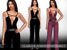 Saliwa's Glamour Jumpsuit with Belt
